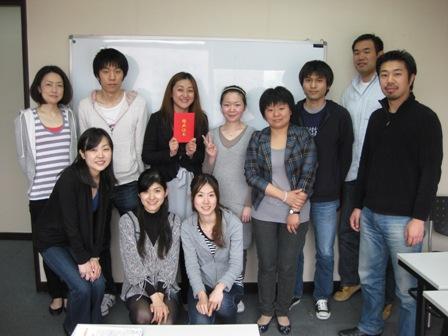 3月中国語全日制コース