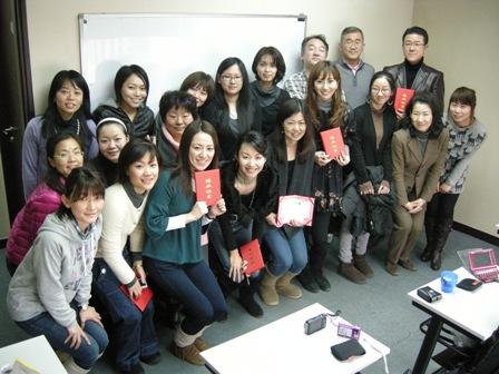 11月全日制中国語コース