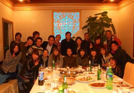 3月全日制中国語コース歓迎会