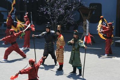 三国城イベント